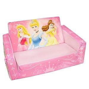 Amazoncom Marshmallow Flip Open Sofa Disney Princess Theme