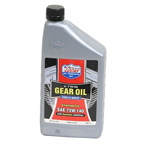 Lucas Oil 10791 Gear Oil - 1 (Lucas Motorcycle Oil)