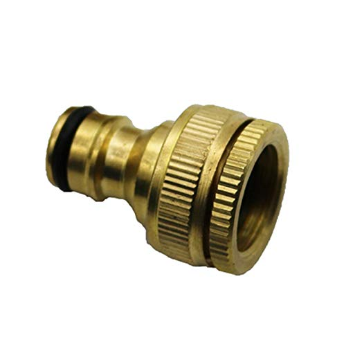 BIG-DEAL Garden Tool,_1PCS Pure Brass Faucets Standard Connector Washing Machine Gun Quick Connect Fitting Pipe Connections 1/2