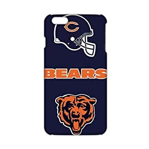 2015 Ultra Thin NFL Chicago Bears 3D Phone Case Cover For Apple Iphone 6 Plus 5.5 Inch