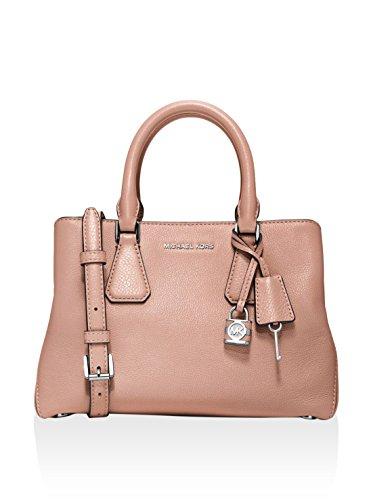 Michael Kors Women's Ballet Pebbled Leather Camille Small Satchel Bag