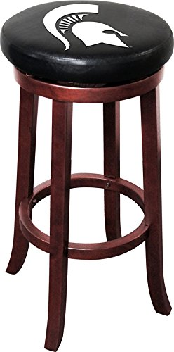 - Imperial Officially Licensed NCAA Furniture: Wooden Bar Stool, Michigan State Spartans
