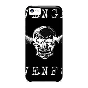 Bumper Hard Phone Cover For Iphone 5c (jmj4003kYLJ) Custom HD Avenged Sevenfold Series