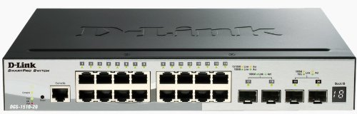 D-Link Systems 20-Port SmartPro Stackable Switch & 2 Gigabit