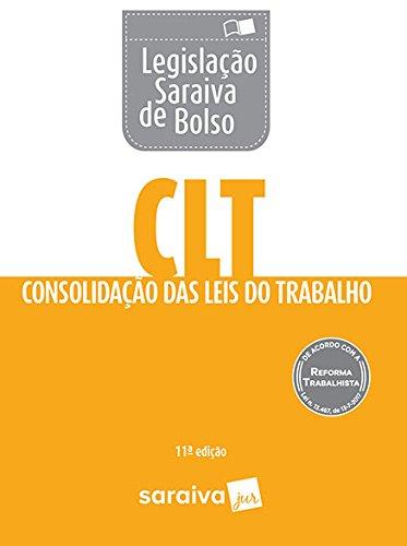 CLT Legislação Saraiva de Bolso