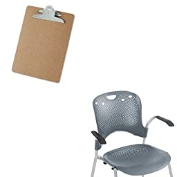 KITBLT34555UNV40304 - Value Kit - Balt Optional Arms for Circulation Series Seating (BLT34555) and Universal 40304 Letter Size Clipboards (UNV40304)