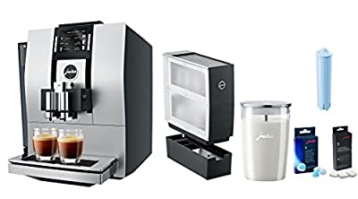 Jura Z6 Coffee & Beverage Center With Additional Bonus Cup Warmer, Glass Milk Container, Descaling Tablets, Cleaning Tablets, Clearyl Filter