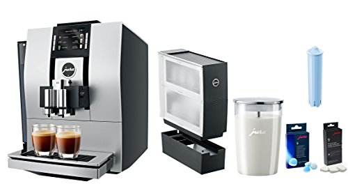 Jura Z6 Coffee & Beverage Center With Additional Bonus Cup Warmer, Glass Milk Container, Descaling Tablets, Cleaning Tablets, Clearyl Filter by Jura