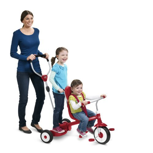 Radio Flyer Ride Trike and Stand Stroll Stroll 'N Trike [並行輸入品] 'N B01MS0T1E0, Labbing store:00174eb7 --- number-directory.top