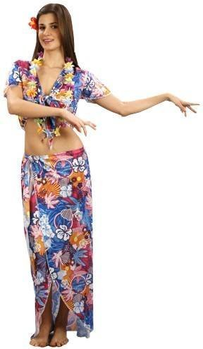 Female Hawaiian tourist costume