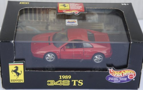 Hot Wheels Collectibles 1989 Ferrari 348 TS 1:43 ()