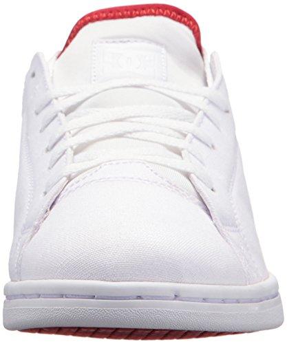 white Magnolia Dcadjs100109 Donna Red Dc Se Tx athletic White xgwW67Y