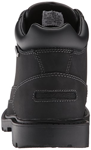 Redemption Black Men's Rockport Boot Waterproof Toe Road Moc p7nqS5