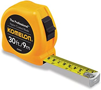 Komelon 4930IM The Professional 30-Foot Scale Power Tape