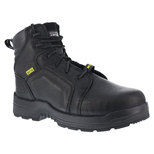 Rockport Work Men's More Energy RK6465 Work Shoe, Black, 12 W US by Rockport