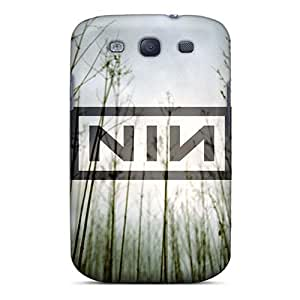 Shockproof Cell-phone Hard Covers For Samsung Galaxy S3 With Unique Design High-definition Nine Inch Nails Band Pictures LauraFuchs