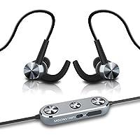 MP3 Music Player & Bluetooth Headphones, 2018 Dansrue Lossless HIFI MP3 Player Metal Shell for Sport Running Walking, Built-in 8GB Memory, Grey
