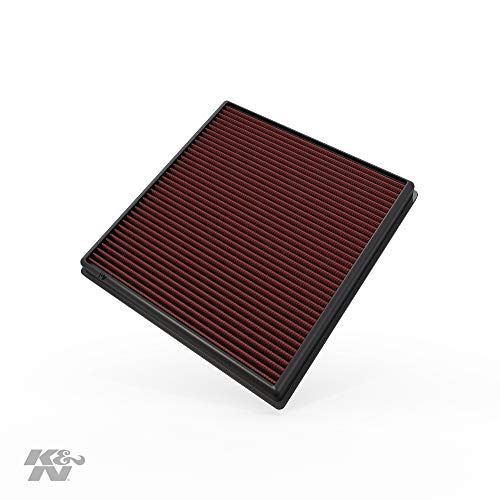 K&N engine air filter, washable and reusable:  2008-2019 BMW L6 3.0L (640i, X6, X5, X4, X3, 535i, 740i, ActiveHybrid) 33-2428