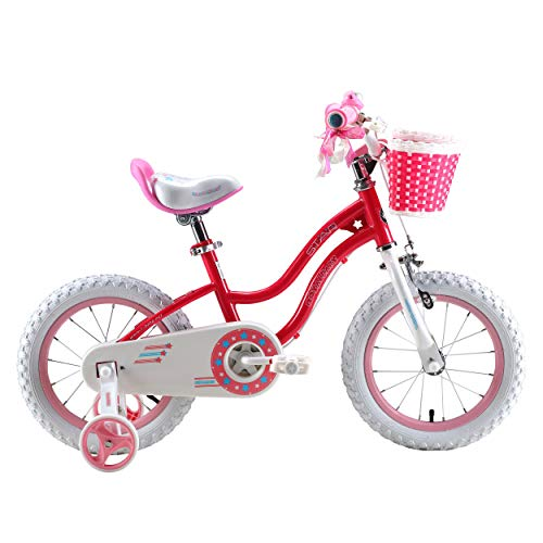 Royalbaby RB12G-1P Stargirl Girl's Bike with Training Wheels