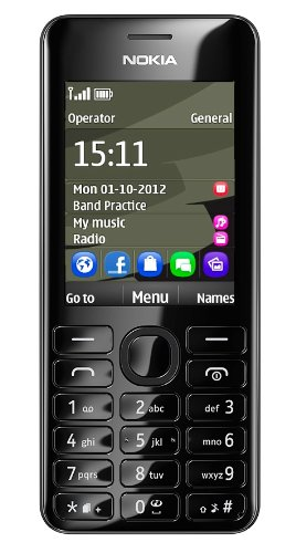 Téléphone GSM NOKIA 206 NOIR