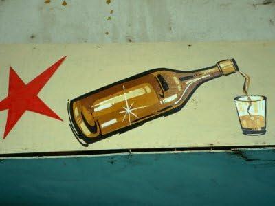 Publicidad para Ron cubano in Old Havana, Havana, Cuba Póster ...
