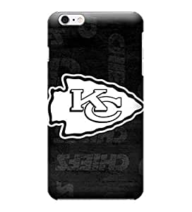 iPhone 6 Cases, NFL - Kansas City Chiefs Black & White - iPhone 6 Cases - High Quality PC Case