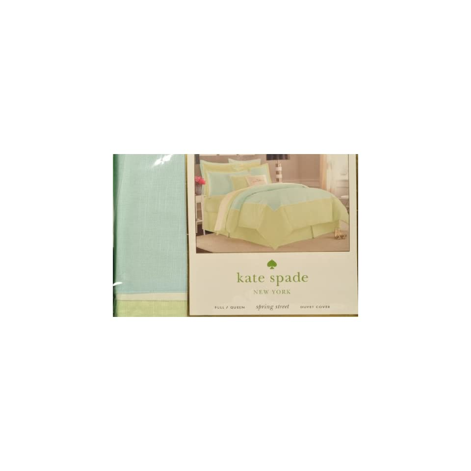 Kate Spade Spring Street Full/Queen Duvet Cover Swan Dive