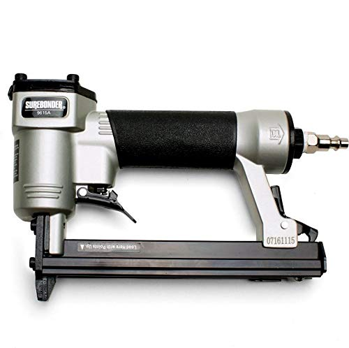 Upholstery Guns Staple - Surebonder Pneumatic 22G Narrow Crown Upholstery Staple Gun with Blow Molded Carrying Case (Air Compressor Needed - Not Included)
