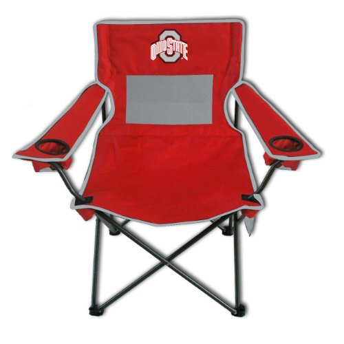 (Rivalry Distributing RIV-RV320-1100 Ohio State Buckeyes NCAA Ultimate Adult Monster Mesh Tailgate Chair)