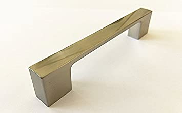 Amazon.com: Modern Cabinet Pulls Brushed Nickel Contemporary ...
