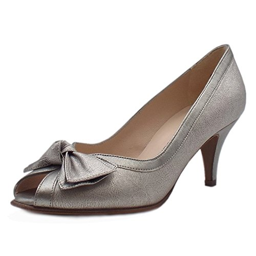 Metálico En Zapatos Chic Del Metalc Dedo Kaiser Satyr Multi De Peter Pie Elegante Peep wv7SxqA