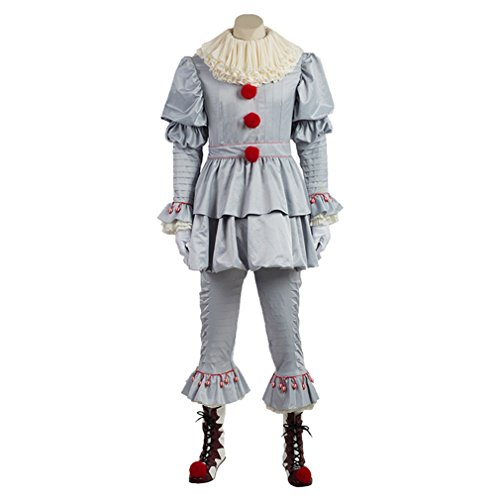Unisex Clown Dressing Clothes Halloween Cosplay Costumes (Men's (Clown Clothes)