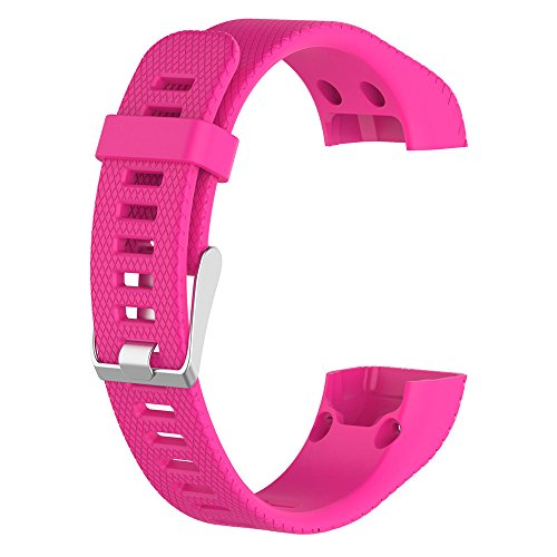 Unisex Best Gift for Garmin vivosmart HR+ RD!!! Hormofy Replacement Silicone Band Wristband Bracelet Striped Fitness Watch Strap Casual Samrt Fitness Watchband