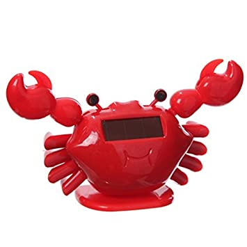 Solar powered Red Crab