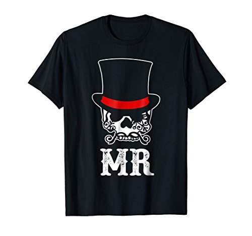 Funny Skull Mr Shirt Couple Day Of The Dead 31st October]()