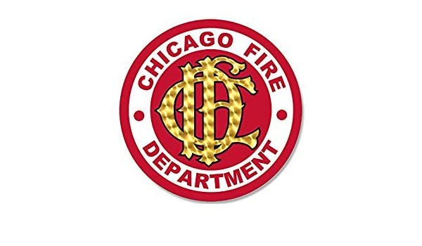 Amazon Com Magnet Round Chicago Fire Department Seal Magnet Cfd