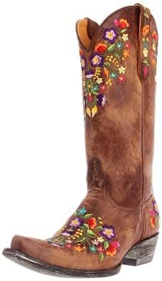 Old Gringo Women's Sora Western Boot,Brass,6 B US