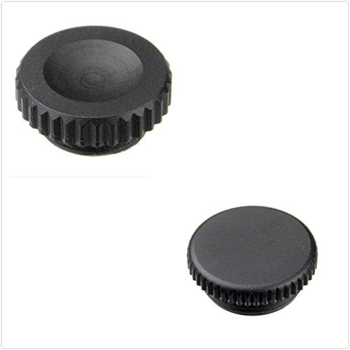 DSLRKIT Metal 10-Pin Remote + Flash PC Sync Terminal Cap Cover SET for Nikon D200 D1 / D1h / D1x D2 / D2H / D2Hs / D2X F5 F100 F90 / F90x N90 / N90x,FUJI S3 S5 Pro - Fuji S3 Pro