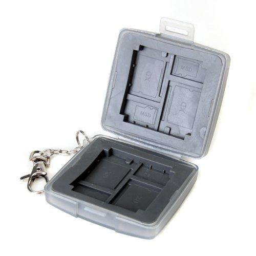 Card-Box-Safe Etui Tasche Speicherkarten Case fuer 2¡Á CF 4¡Á XD 4¡Á für Micro SD Karte