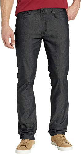 Kenneth Cole New York Men's Five-Pocket Pants Two-Tone Stretch Black 38 30 from Kenneth Cole New York