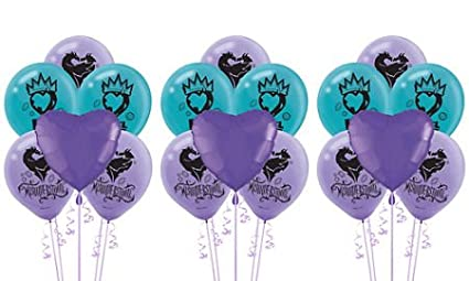Image Unavailable Not Available For Color Descendants 2 Balloon Decorating Kit Birthday Party Supplies