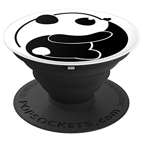 (Beautiful Yin Yang Panda - PopSockets Grip and Stand for Phones and Tablets)