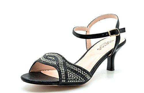 TOETOS BERK 175 Rhinestones Classic Sandals