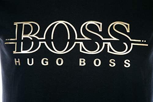 BOSS Hombre Camiseta Dorado Camiseta - Negro, 3XL : Amazon.es ...