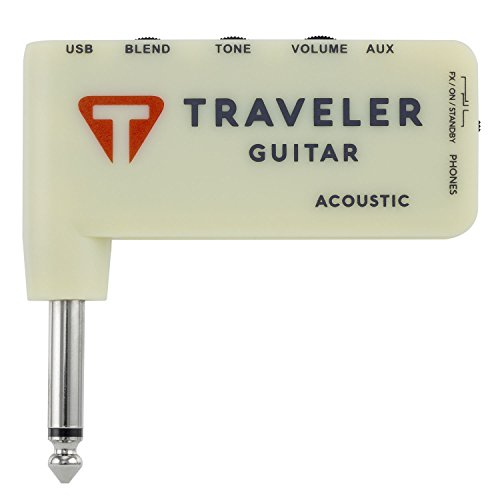 Traveler Guitar TGA-1A Acoustic Headphone (Acoustic Guitar Amp Amplifier)