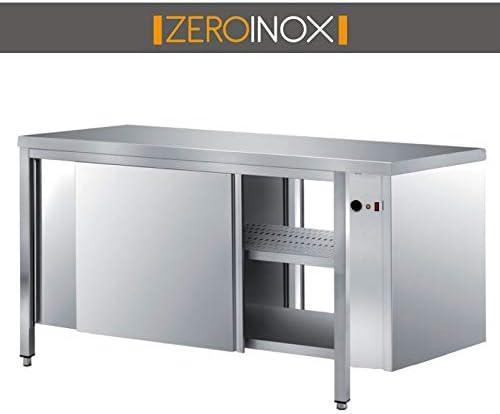 ZeroInox Mesa armadiato cálido Puertas correderas en Dos Lados ...