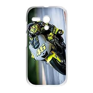 Motorola Moto G Phone Case White Valentino Rossi F5940690