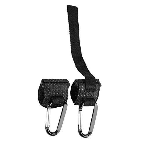 Ganchos para Cochecito con cintur/ón de Seguridad para beb/é con Correa para la mu/ñeca para la Seguridad del beb/é Ajuste Universal 2 Unidades LuLyL