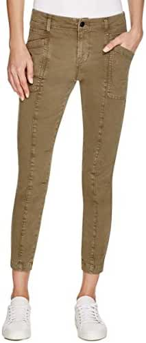 J Brand Womens Byrnes Skinny Mid-Rise Cargo Jeans