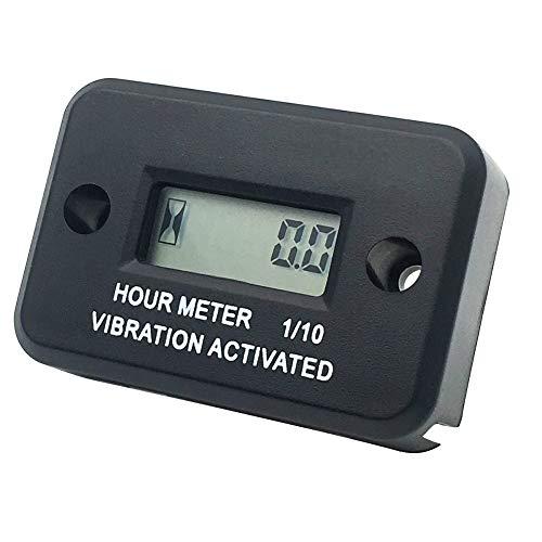 Searon Digital Vibration Hour Meter Wireless for all vibrating machine Motocross, Marine,Motorcycle,Snowmobil,ATV,Boat, Generators,Tractor, lawn mower...